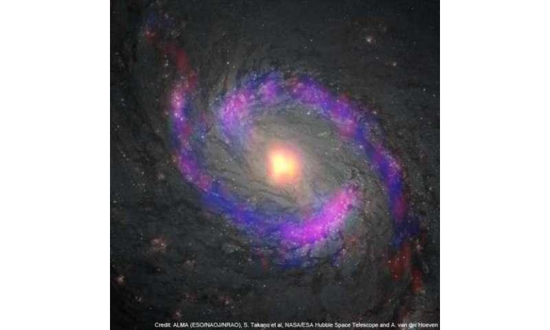 ALMA reveals surprisingly mild environment around a supermassive black hole