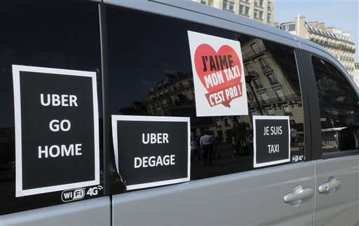 A look at challenges Uber has faced around the world