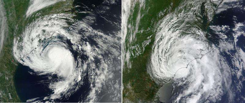 Ana makes landfall in South Carolina on Mother's Day