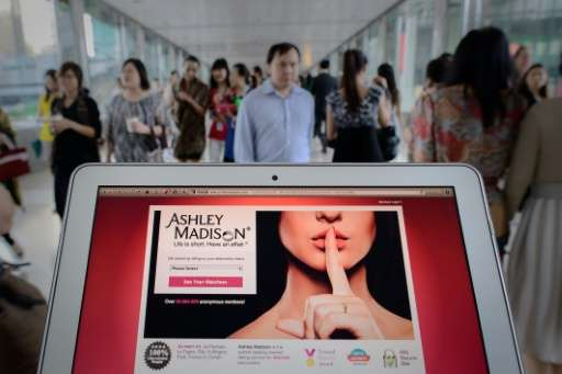 An analysis of the hacked data showed 20 million men had checked messages on Ashley Madison, compared with only 1,492 women