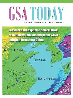 Ancient deformation of the lithosphere revealed in Eastern China