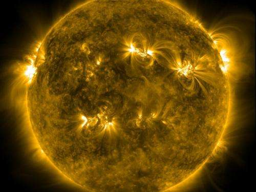 A new look at the sun's magnetic field