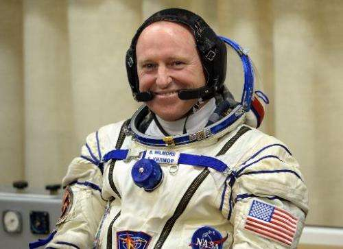 A new spacesuit was shipped to the ISS and will be worn by US astronaut Barry Wilmore for spacewalks outside the International S