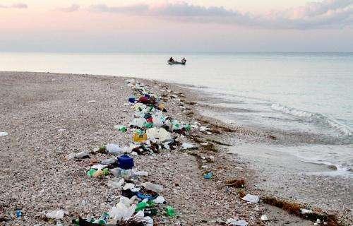 An ocean of plastic