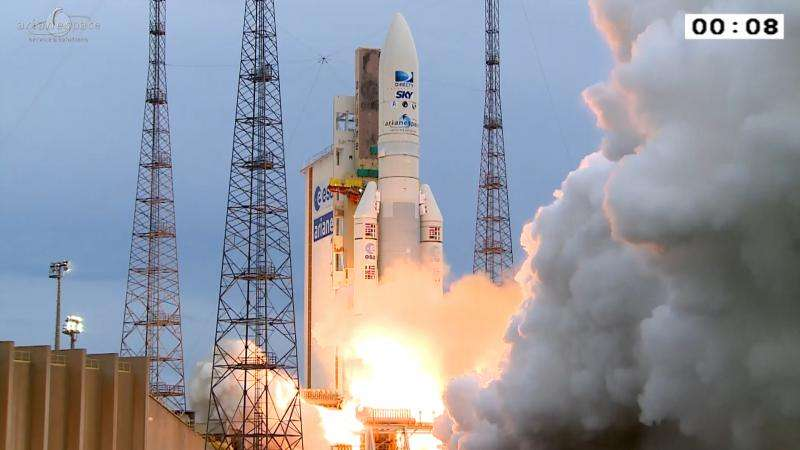 Ariane 5's second launch of 2015