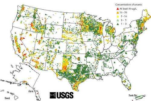 Arsenic stubbornly taints many US wells, say new reports
