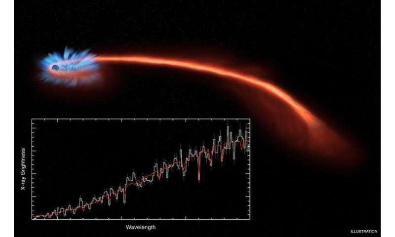 Astronomers catch a black hole shredding a star to pieces