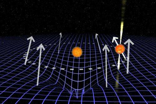 Astronomers use vanishing neutron star to measure space-time warp