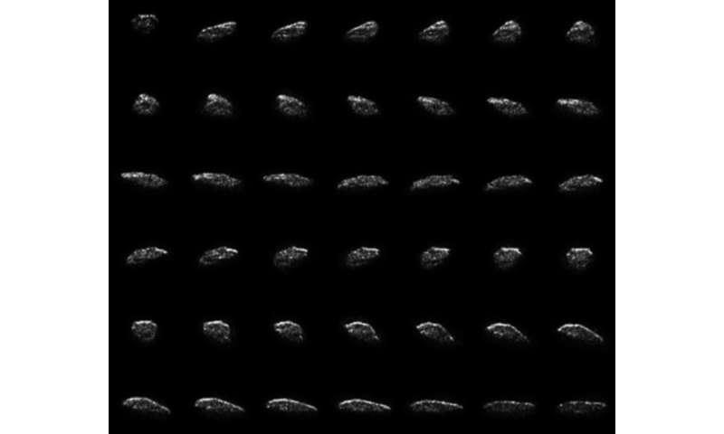 Astronomy summer school radar observations shine new light on near-earth asteroid