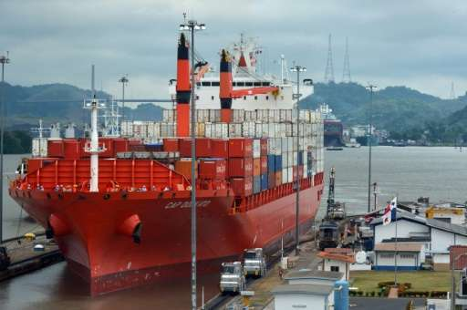 Authorities say the Panama canal, which connects the Pacific and the Atlantic through the Caribbean, will temporarily limit the