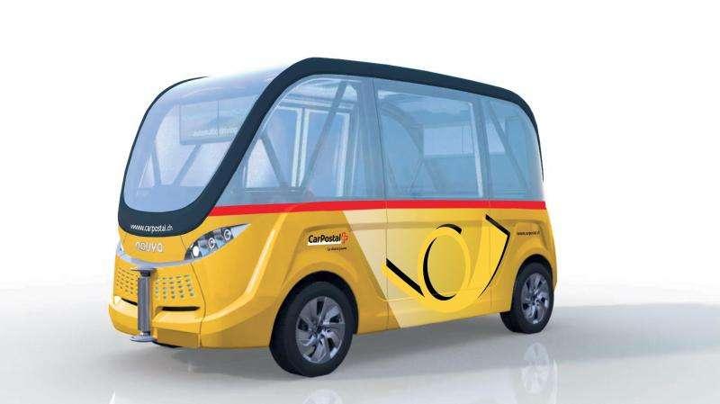 Autonomous shuttles in Switzerland