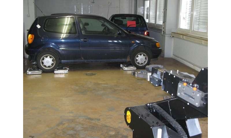 AVERT team shows autonomous extraction system for vehicles
