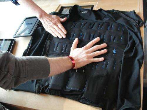 A VEST, or variable extra-sensory transducer, tailored to expand the range of human senses by translating information into vibra