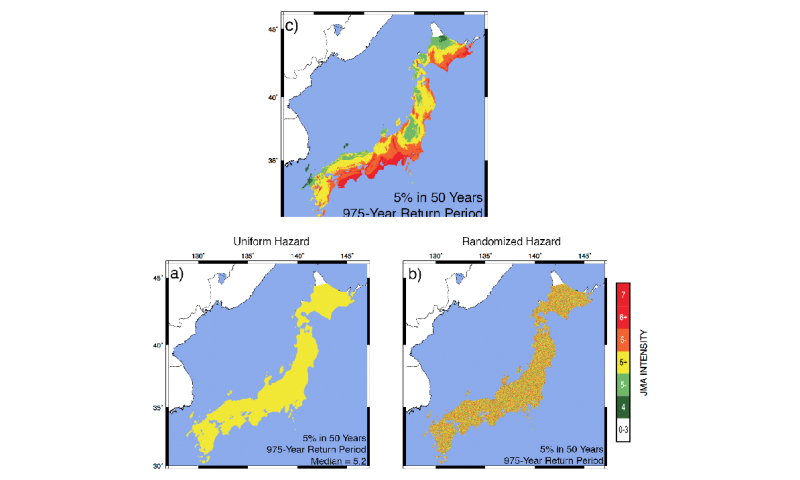 Babe Ruth and earthquake hazard maps