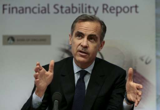 """Bank of England governor Mark Carney has said that investors face """"potentially huge"""" exposure to the challenges posed"""
