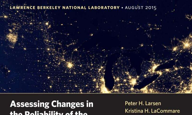 Berkeley Lab releases most comprehensive analysis of electricity reliability trends