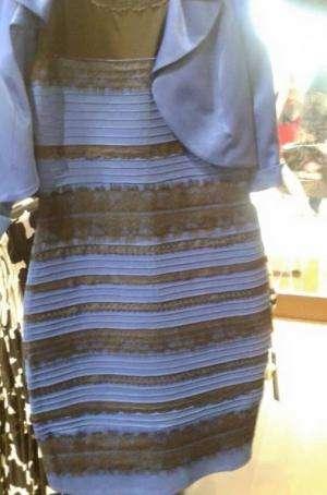 Black/blue or white/gold? Dress debate goes viral