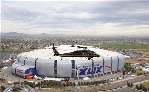 Border Protection lends a hand for Super Bowl security