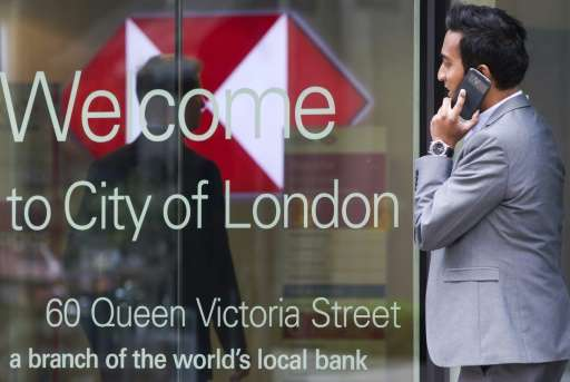 Britain's top banks are trying to adapt and move ahead by embracing mobile technology