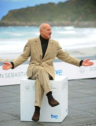 British architect Norman Foster poses for a photo in San Sebastian, Spain, in 2010