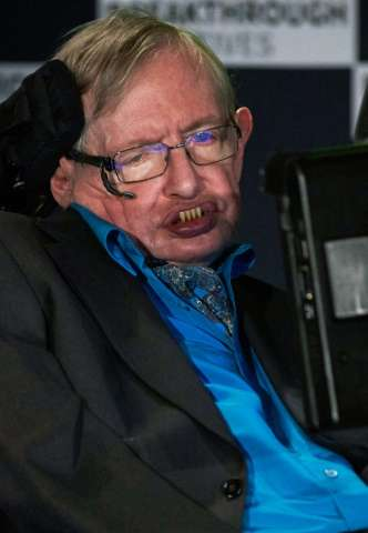 British scientist Stephen Hawking has previously warned that AI is a threat to mankind