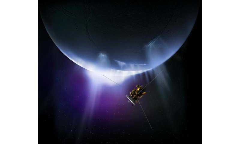 Cassini closes in on Enceladus, one last time
