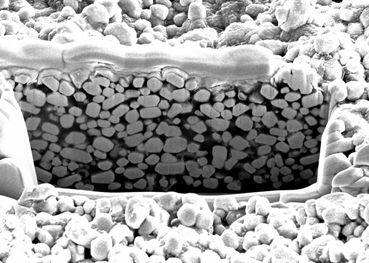 """Ceramic particles supply digital X-ray plates """"from an aerosol can"""""""