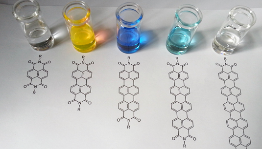 Chemists synthesize a new dye particularly suitable for the inconspicuous labelling of textiles