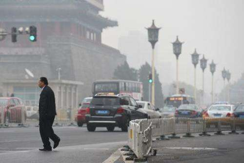 China is the world's largest source of carbon dioxide emissions, which cause climate change