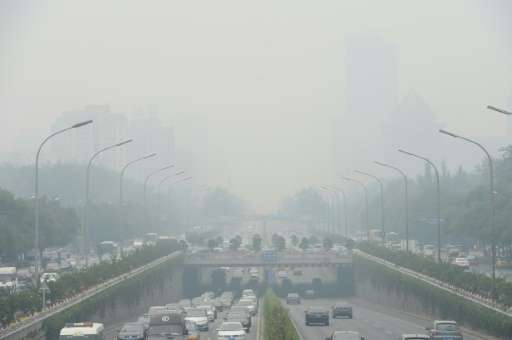 Chinese cities, such as Beijing, pictured in June, are often hit by heavy pollution, blamed on coal-burning by power stations an