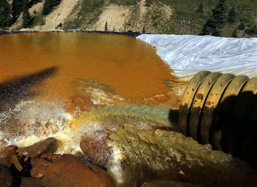 Colorado area open to Superfund cleanup after mine spill