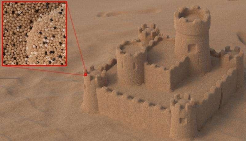 Computer graphics: Less computing time for sand