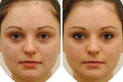 Cosmetics have little effect on attractiveness judgments compared with identity
