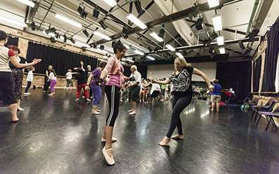 Dance study puts people with Parkinson's on the front foot