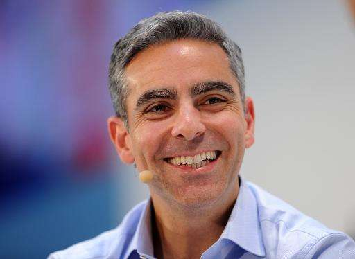 David Marcus, the head of the Messenger team, speaks during a conference in Munich,southern Germany, in January 2015