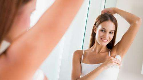 Deodorant use ok for radiotherapy patients