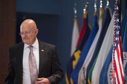 "Director of National Intelligence James Clapper, pictured on April 24, 2015, said that China is ""the leading suspect"""