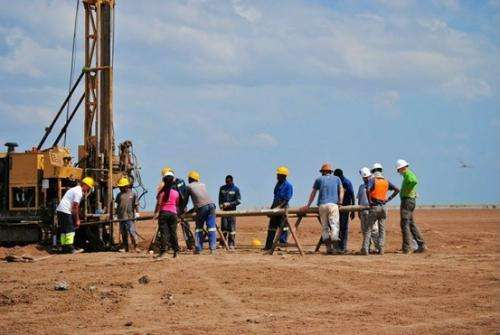 Drilling ancient African lakes sheds light on human evolution