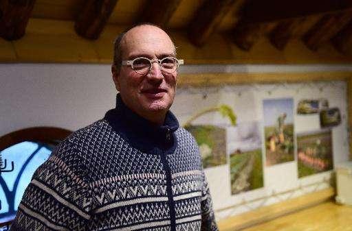 Dutch farmer Mark van Rijsselberghe, who launched the Salty Potato Farm