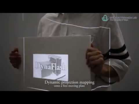 DynaFlash is a high-speed projector with 3ms delay