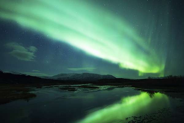 Effort to map aurora borealis using Twitter