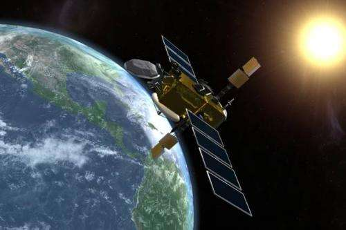 Electric propulsion system improves maneuverability of small satellites