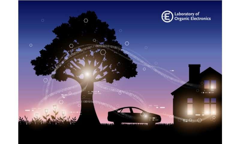 Electronic plants developed at Linköping University