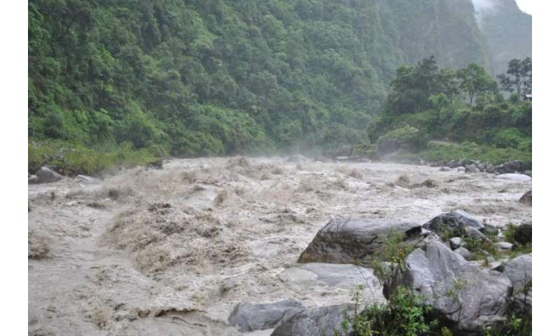 Erosion, landslides and monsoon across the Himalayas