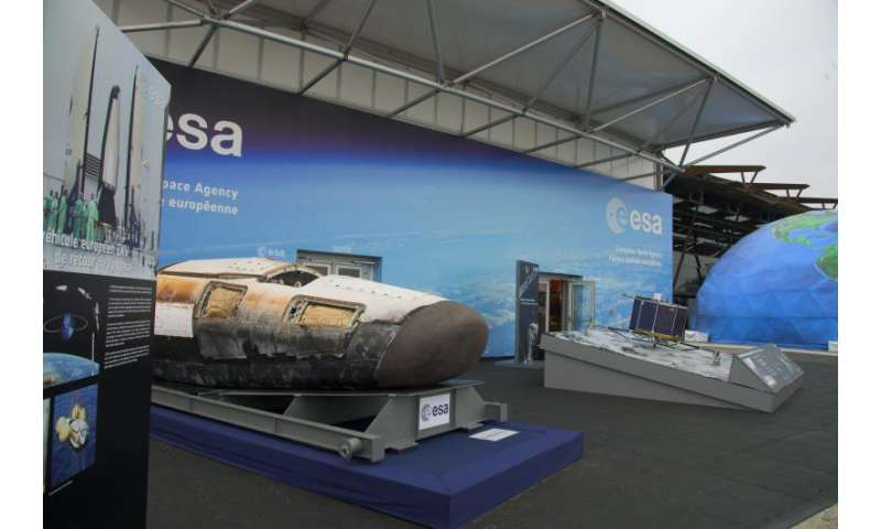 ESA spaceplane on display