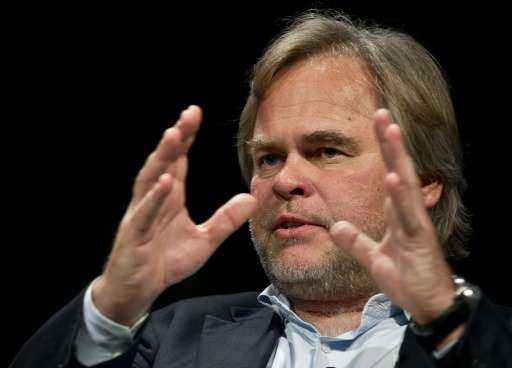 Eugene Kaspersky, CEO of Kaspersky Lab, speaks in Washington on June 4, 2013