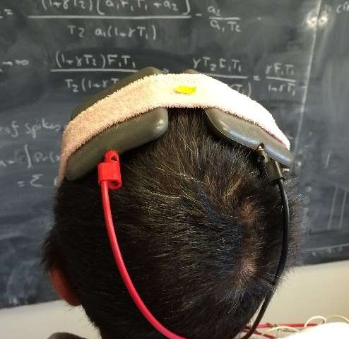 External brain stimulation temporarily improves motor symptoms in people with Parkinson's