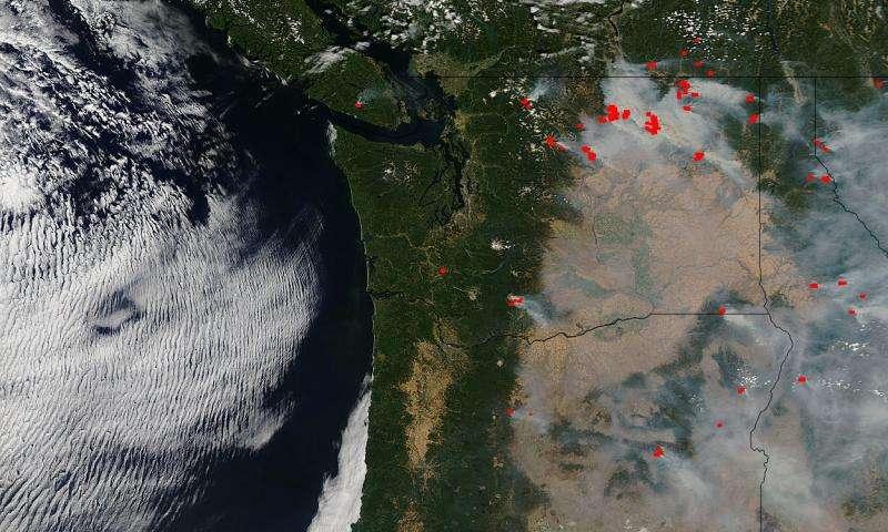 Fires ravaging Washington, Oregon, and California