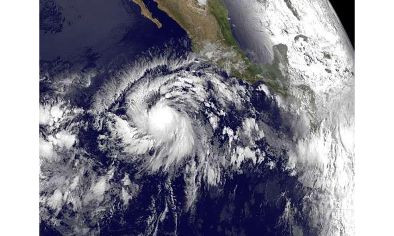 First Eastern Pacific tropical depression runs ahead of dawn