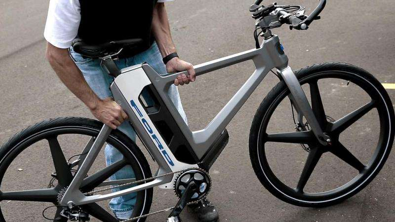 Ford unveils MoDe:Flex—an eBike that fits in a car trunk